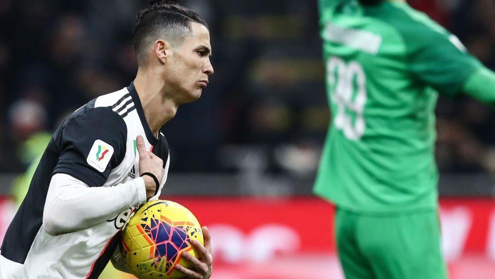 Der Retter von Turin: Cristiano Ronaldo - Bildquelle: AFPSIDISABELLA BONOTTO