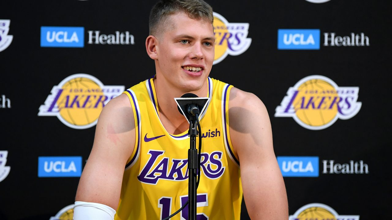 Moritz Wagner (Los Angeles Lakers) - Bildquelle: 2018 Getty Images