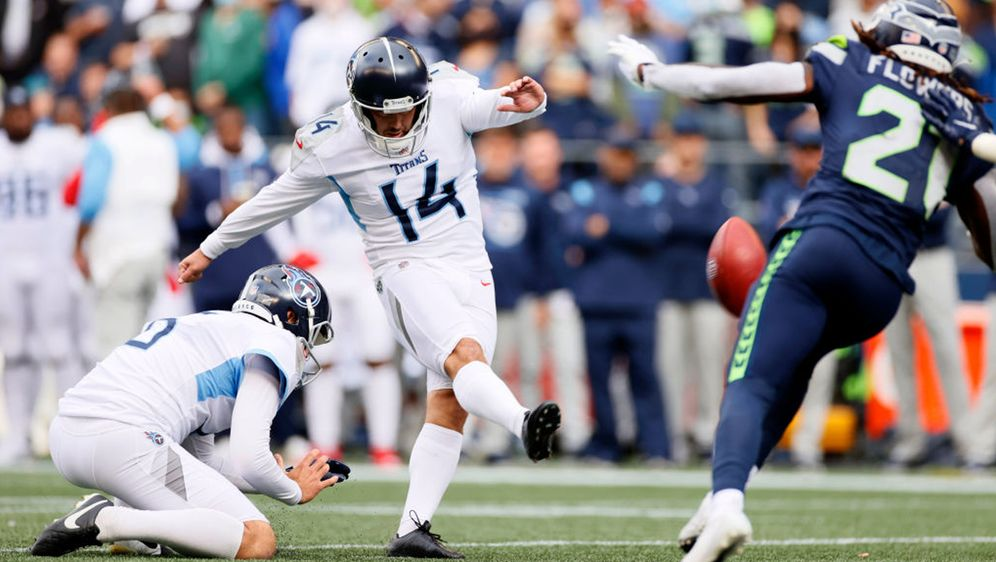 Kicker Randy Bullock schoss die Titans zum Sieg - Bildquelle: 2021 Getty Images