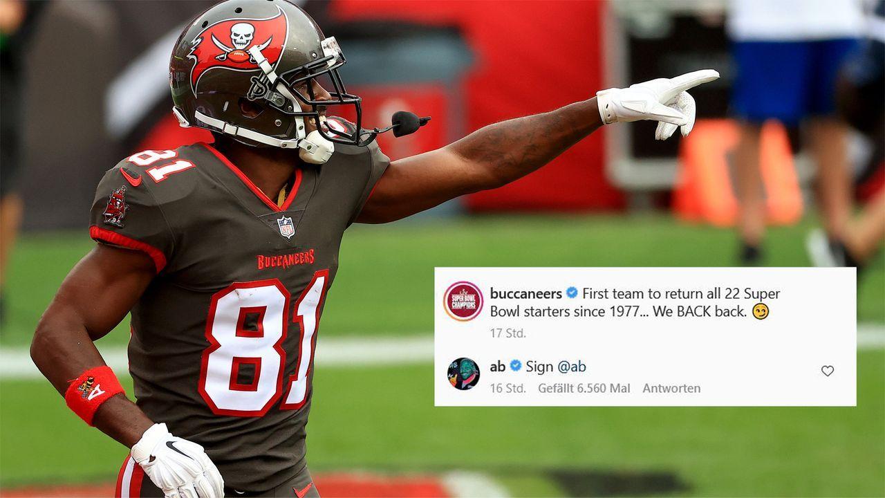 """Antonio Brown fordert die Bucs auf: """"Verlängert mit AB"""" - Bildquelle: Getty Images"""