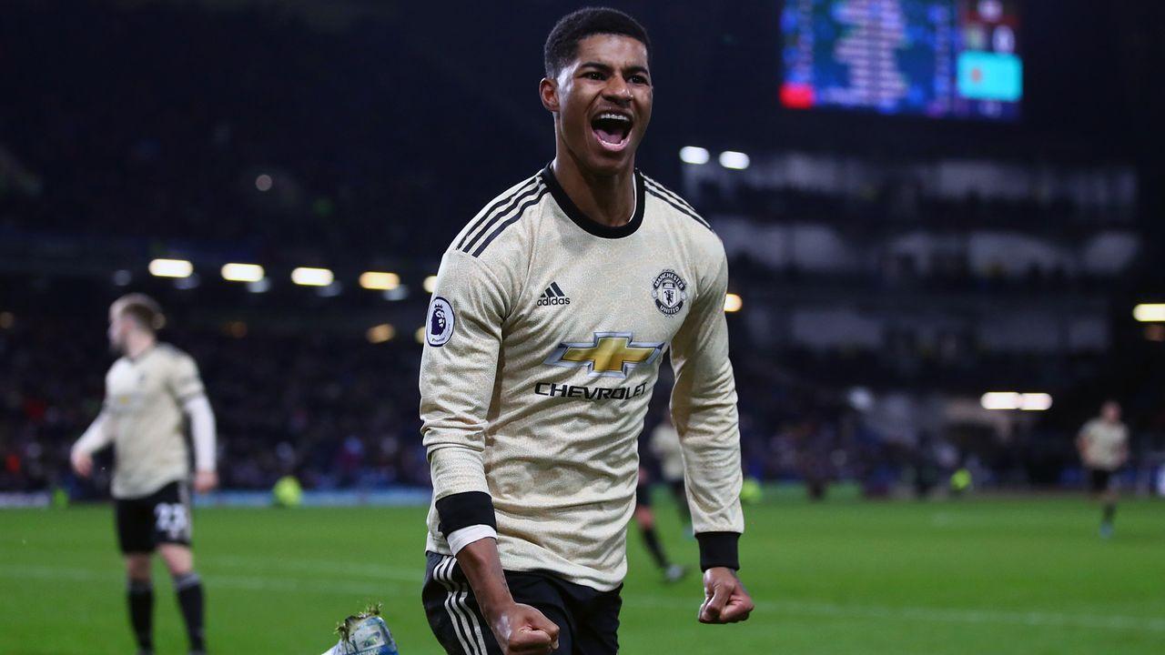 Platz 7 - Marcus Rashford (Manchester United) - Bildquelle: 2019 Getty Images