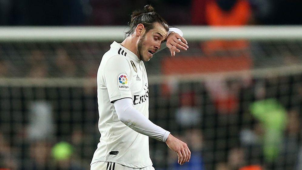 Gareth Bale verweigert Glückwünsche zum Siegtreffer. - Bildquelle: Getty Images
