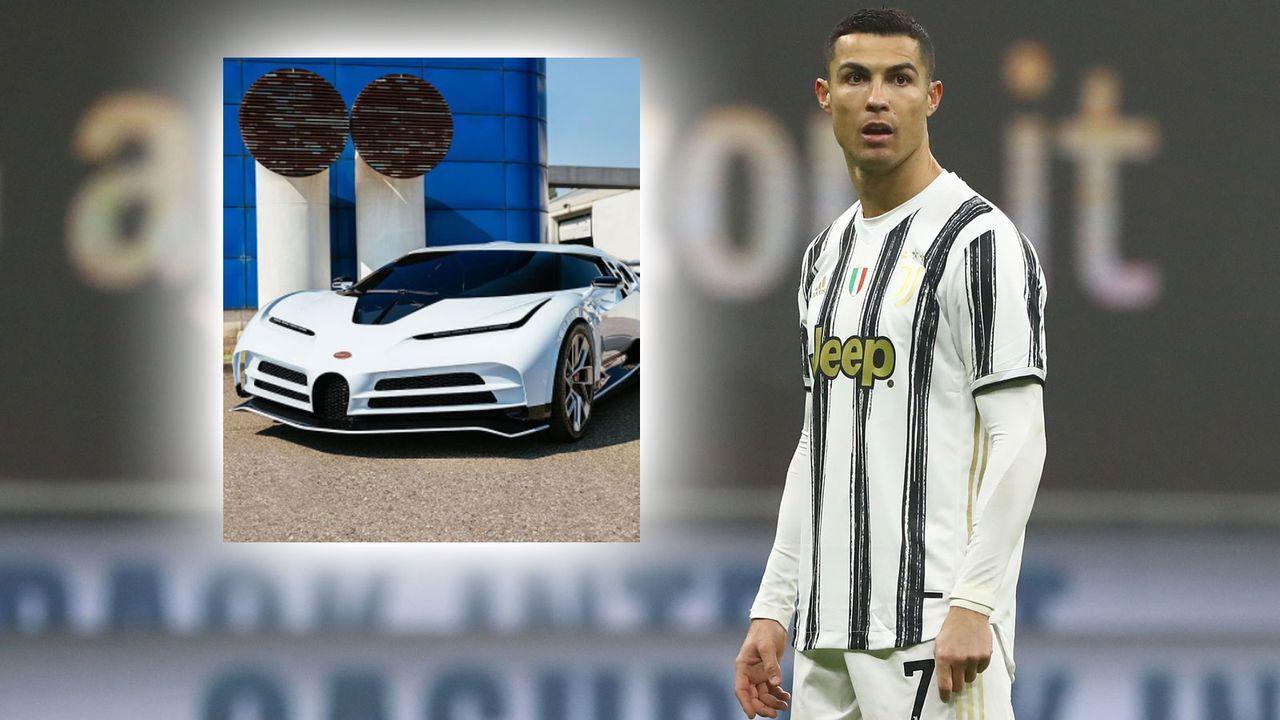 Cristiano Ronaldo sichert sich limitiertes Schmuckstück - Bildquelle: Getty Images / Instagram @Bugatti
