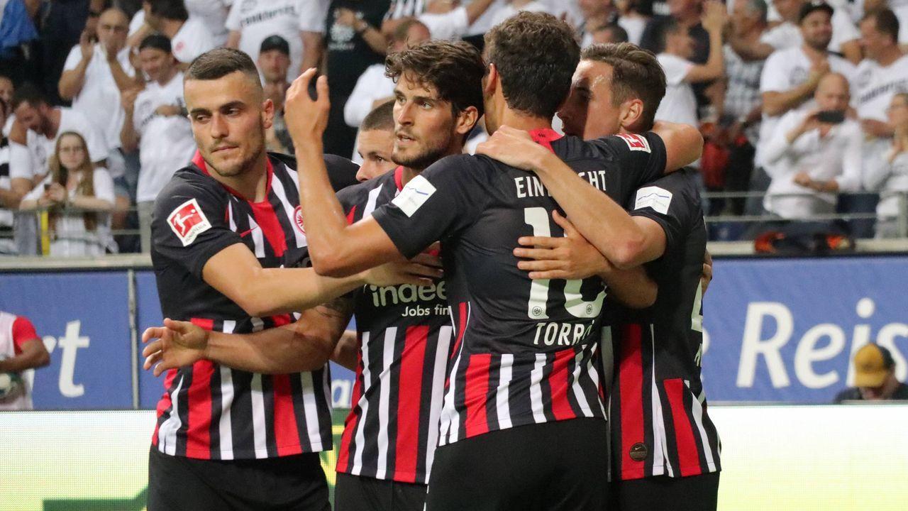 Eintracht Frankfurt schlägt Tallinn  - Bildquelle: imago