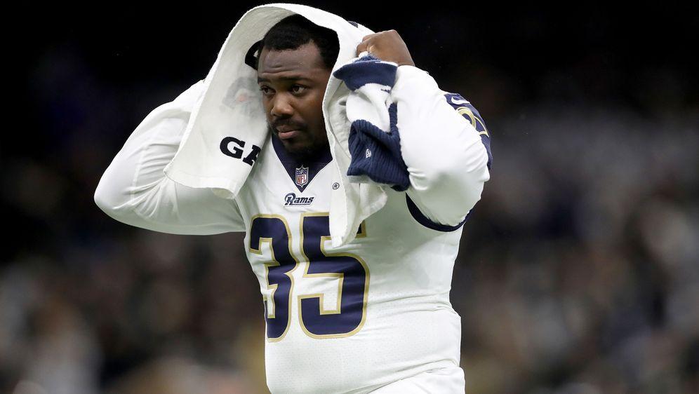 Kein Modellathlet, aber effektiv: C.J. Anderson von den Los Angeles Rams - Bildquelle: Getty Images
