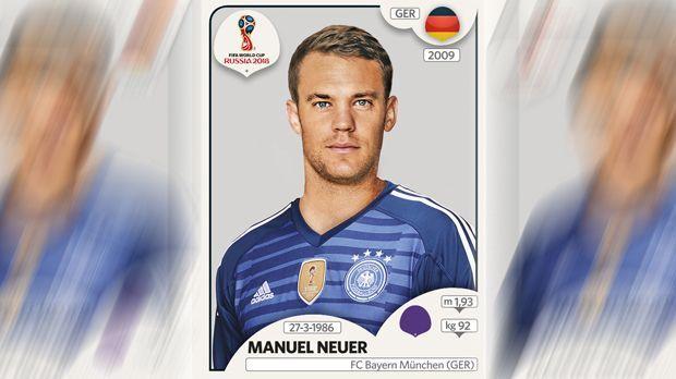 Manuel Neuer (FC Bayern München) - Bildquelle: Panini