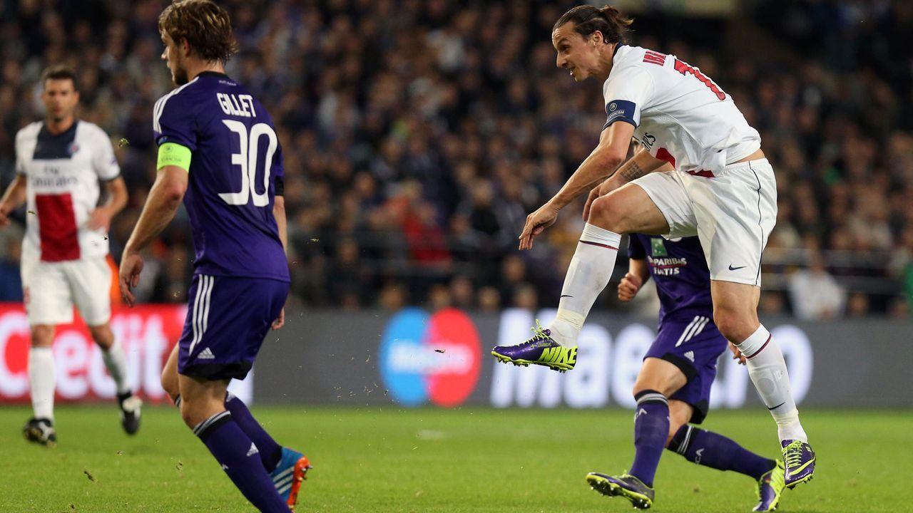 Zlatan Ibrahimovic (Paris St. Germain) - Bildquelle: imago/Belga