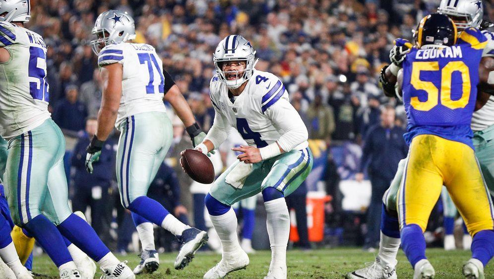 Dak Prescott und die Cowboys führen die NFC East an - Bildquelle: Getty Images