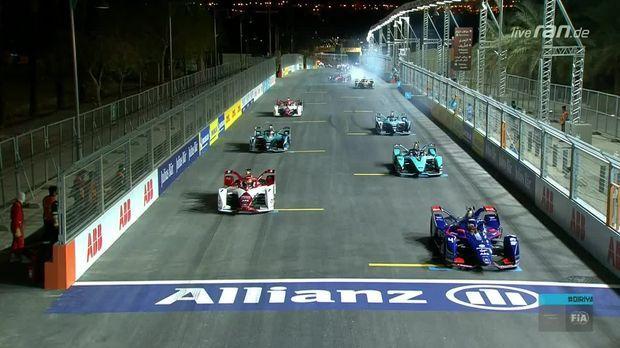 Formel E - RELIVE: Das Samstags-Rennen der Formel E in Saudi-Arabien - RAN