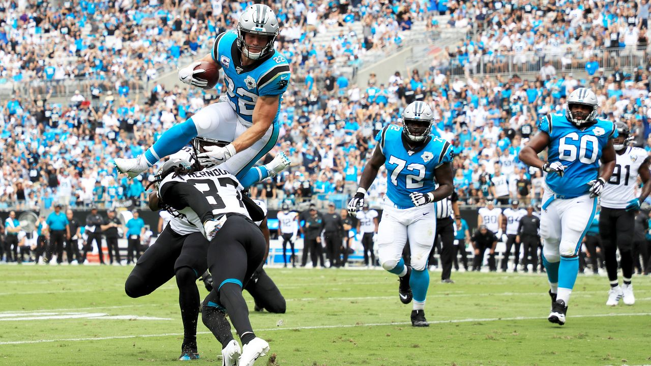Christian McCaffrey (Carolina Panthers) - Bildquelle: Getty