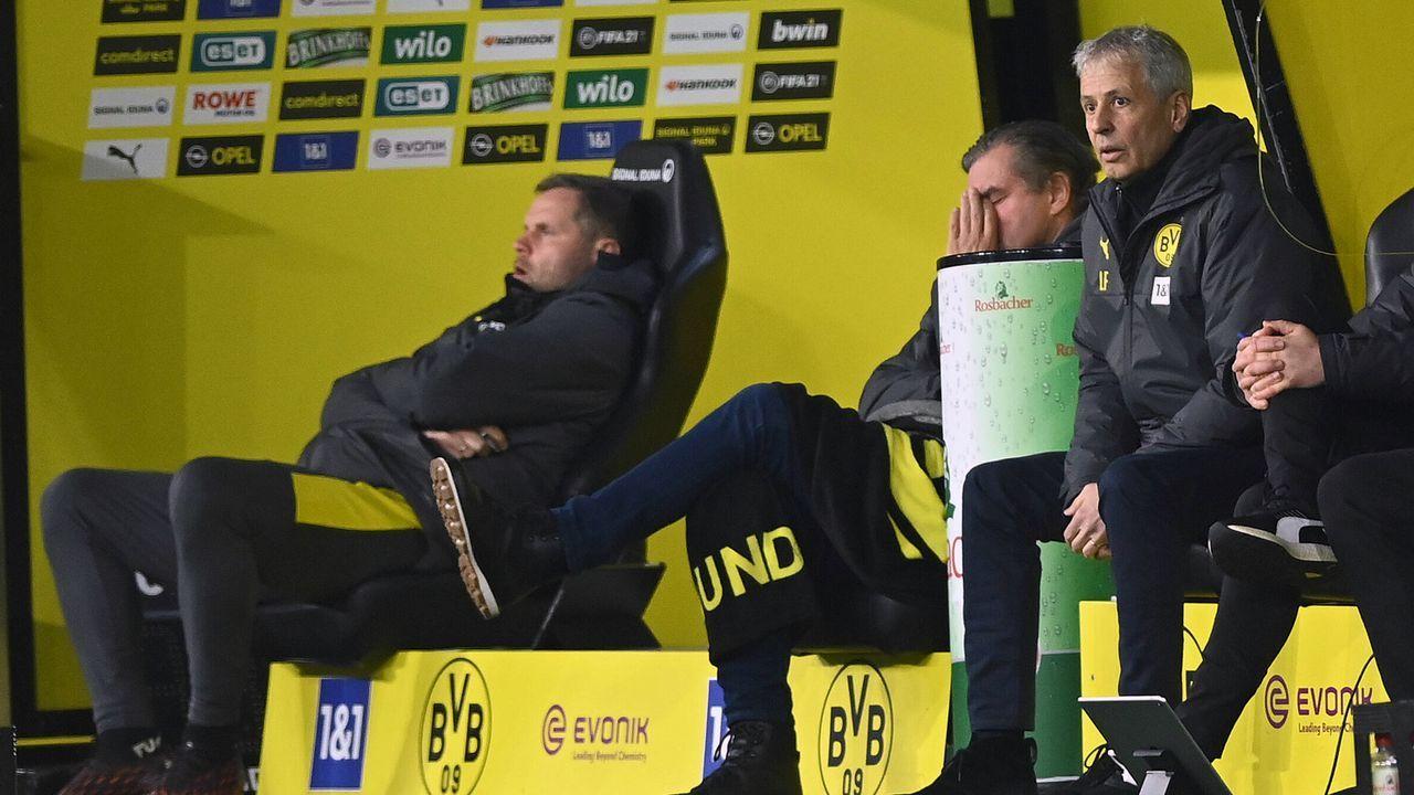 Favre-Entlassung nach 1:5-Debakel gegen Stuttgart - Bildquelle: Witters/Witters/Pool