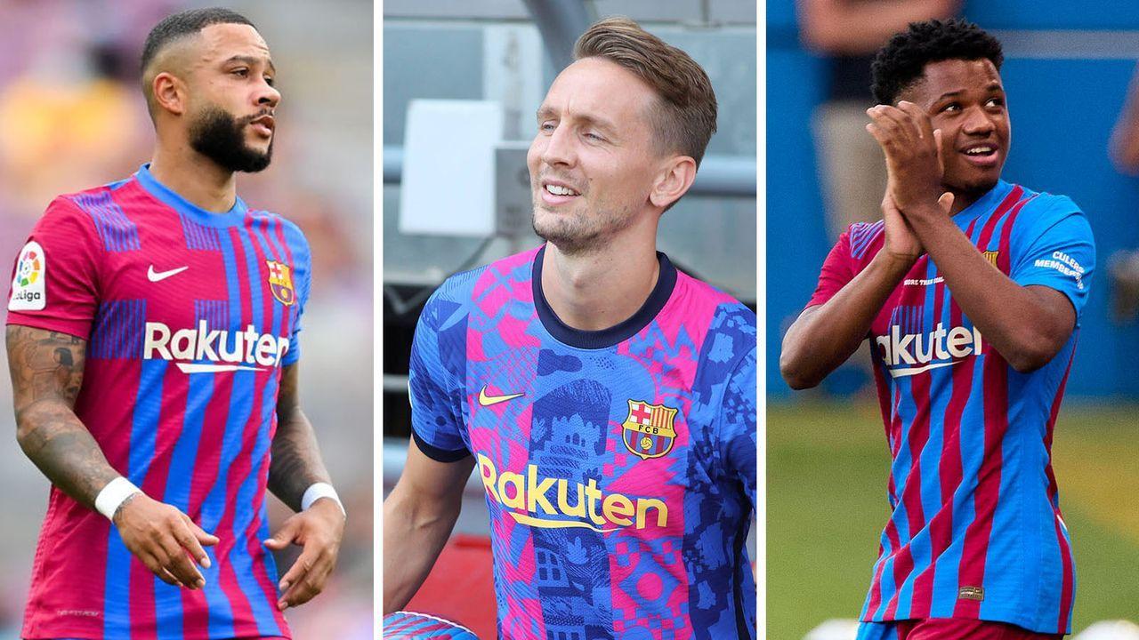 """Lionel Messi und """"MSN"""" weg: So sieht die Offensive des FC Barcelona jetzt aus - Bildquelle: Getty/imago"""