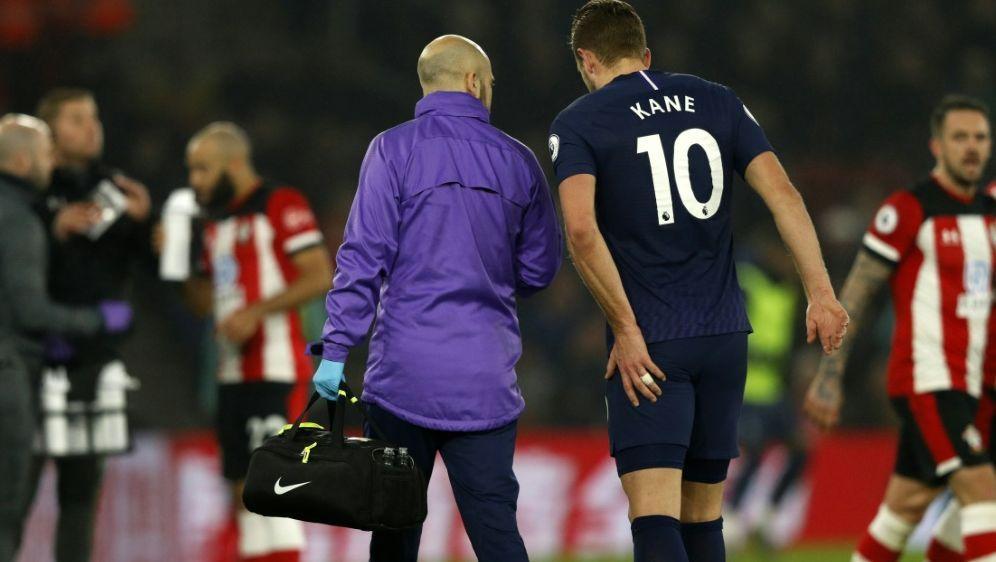 Verletzte sich am linken Oberschenkel: Harry Kane - Bildquelle: AFPSIDADRIAN DENNIS
