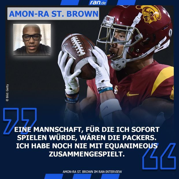Link in Bio Amon-Ra St. Brown Packers