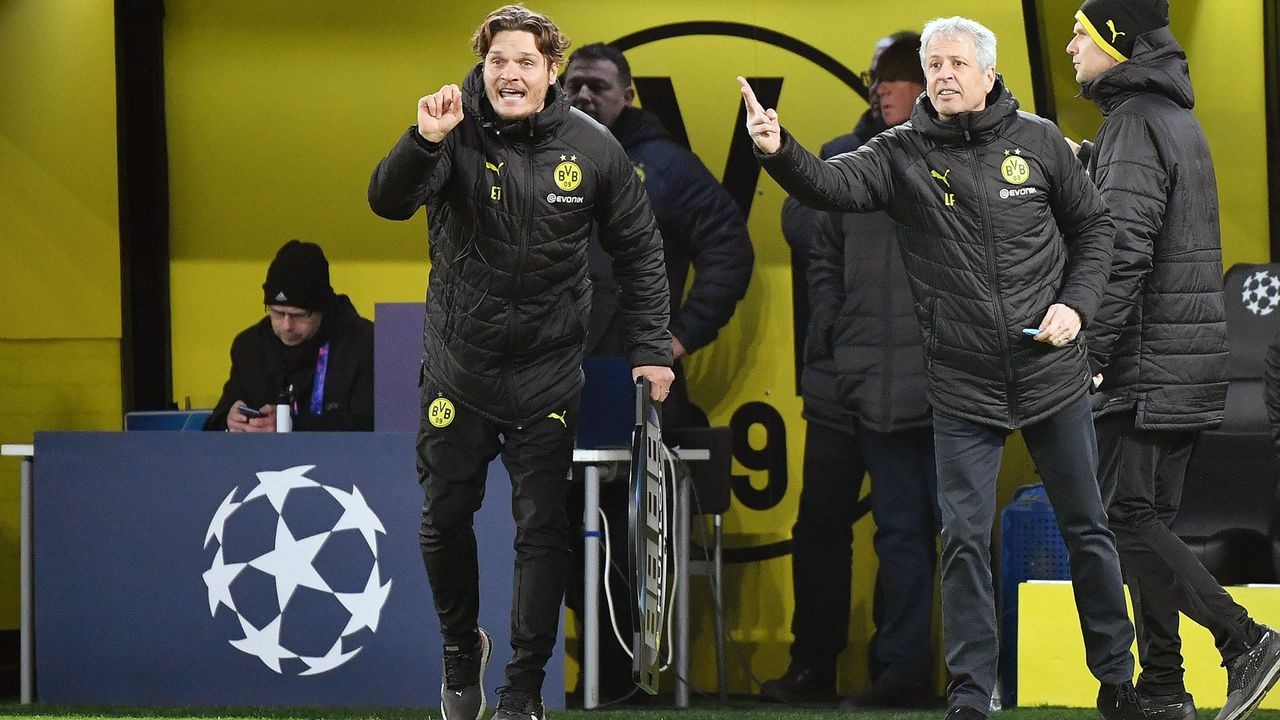 Das hat sich unter BVB-Coach Edin Terzic verändert: Vergleich mit Lucien Favre - Bildquelle: imago images/Eibner