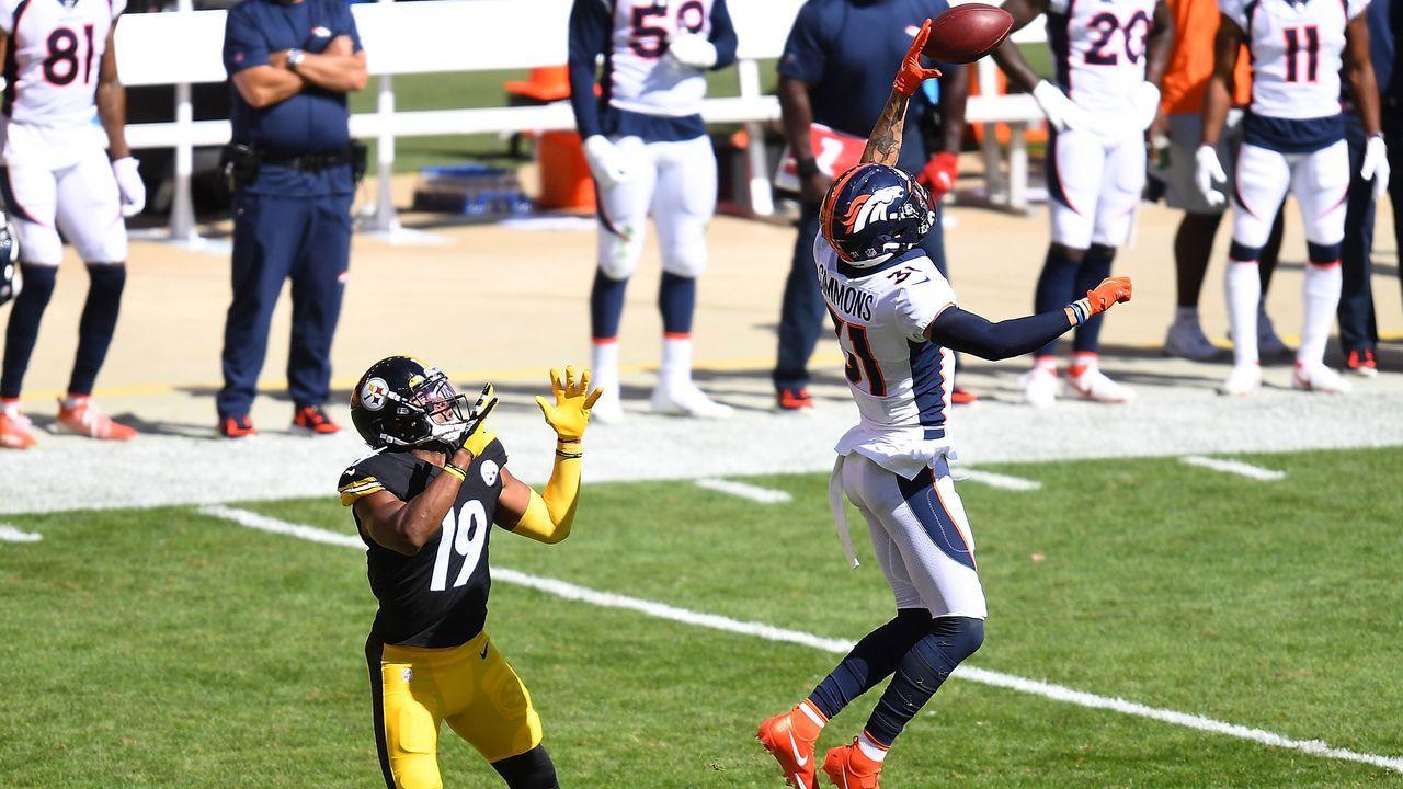 Safety: Justin Simmons (Denver Broncos) - Bildquelle: 2020 Getty Images