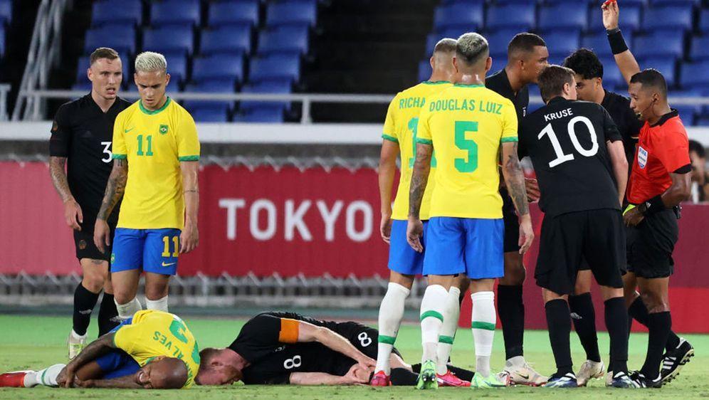 Das DFB-Team steht gegen Saudi-Arabien unter Druck. - Bildquelle: 2021 Getty Images