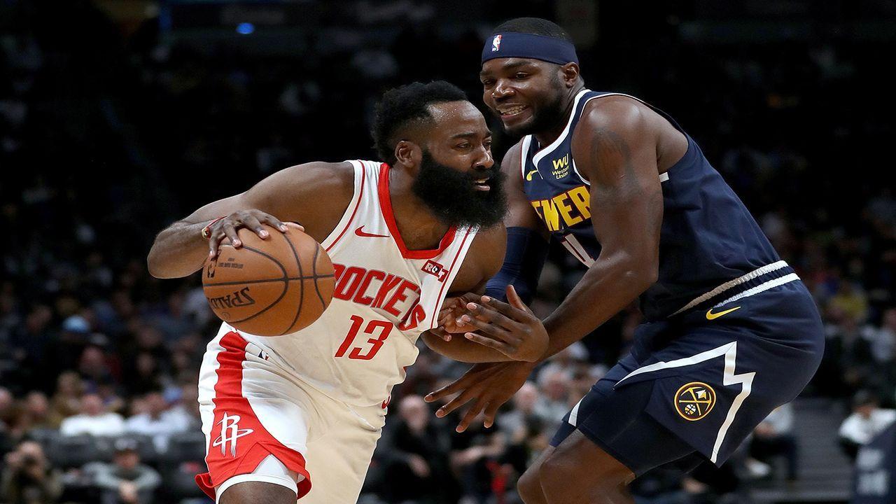Denver Nuggets vs. Houston Rockets - Bildquelle: Getty Images