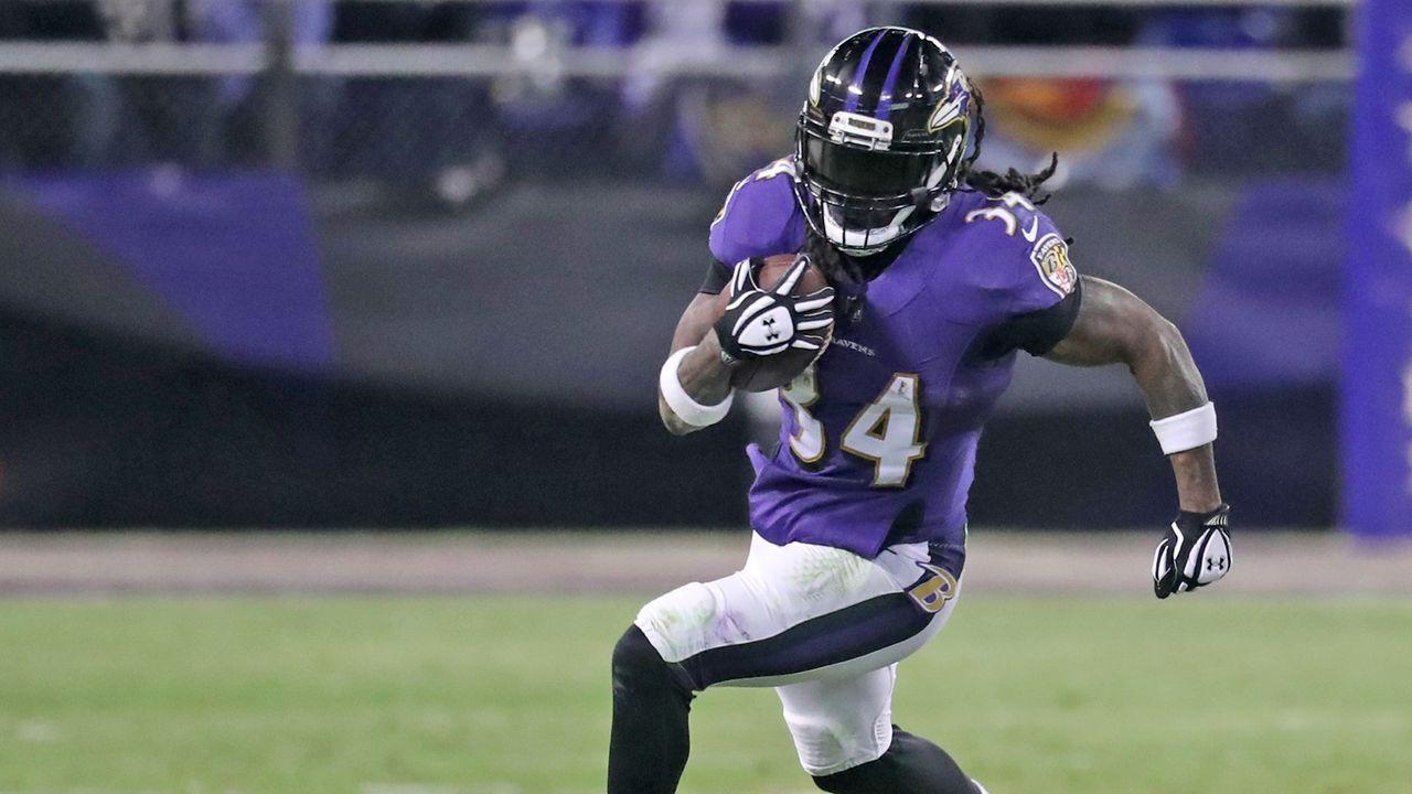 Platz 26: Baltimore Ravens - Bildquelle: 2017 Getty Images