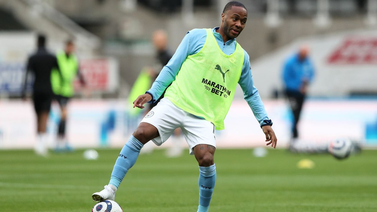 Platz 7 - Raheem Sterling (Manchester City) - Bildquelle: 2021 Getty Images