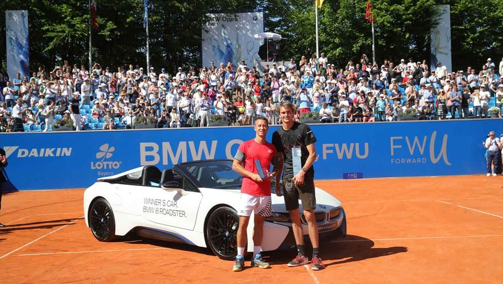 Zverev Nimmt An Den Bmw Open 2019 Teil