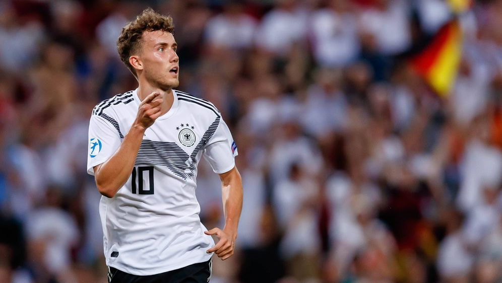 Luca Waldschmidt ist der bislang beste Torjäger der deutschen U 21-Nationalm... - Bildquelle: imago images / DeFodi