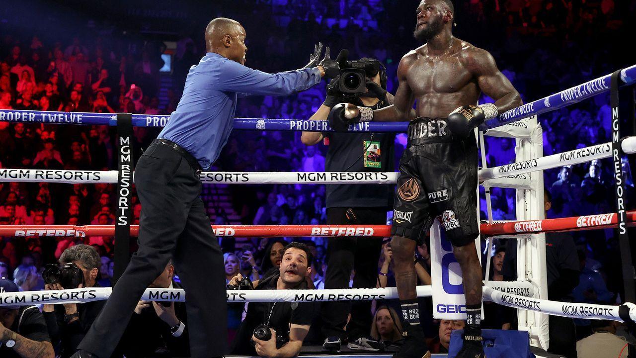 Wilder wird angezählt - Bildquelle: 2020 Getty Images