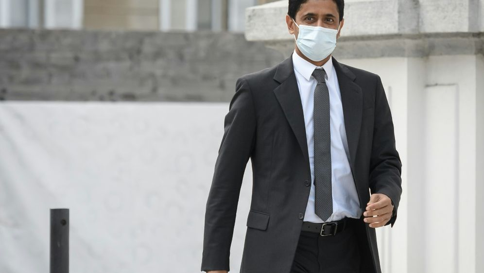 Staatsanwaltschaft fordert Haft: Nasser Al-Khelaifi - Bildquelle: AFPSIDFABRICE COFFRINI