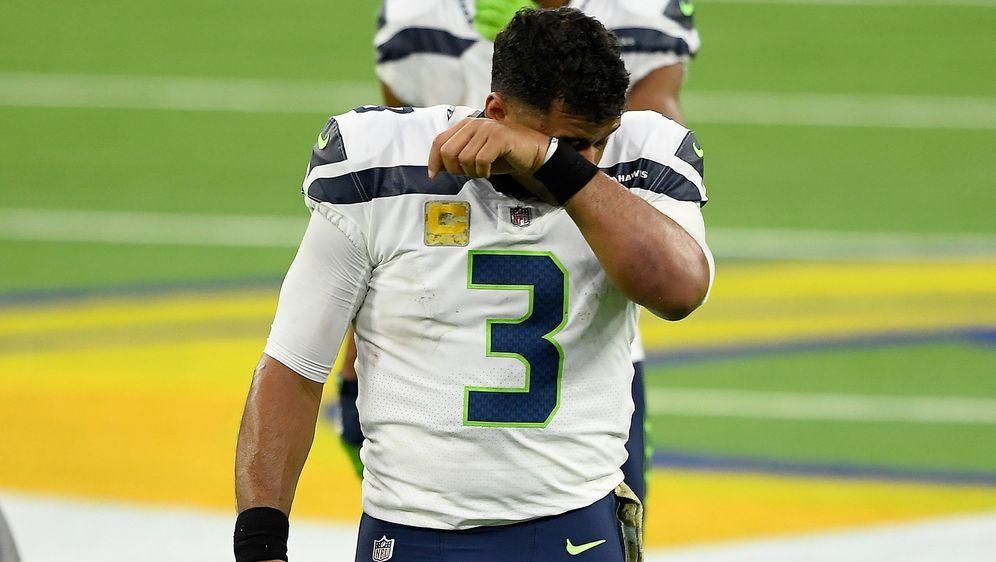 Musste nach einem überragenden Saisonstart mit seinen Seattle Seahawks zulet... - Bildquelle: 2020 Getty Images