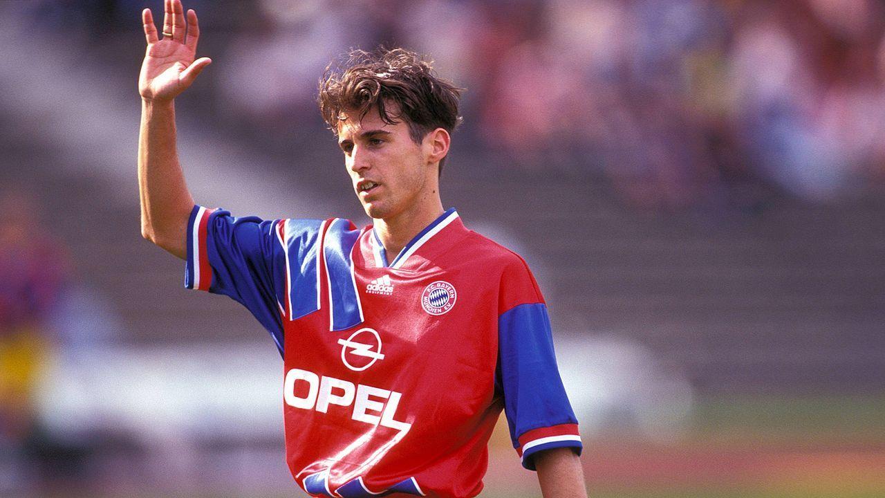Heimtrikot der Saison 1993-95 - Bildquelle: Imago