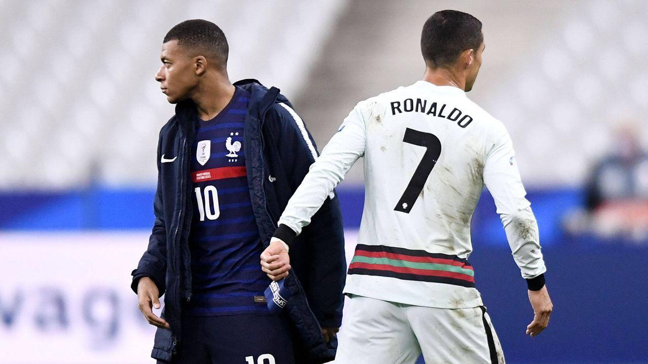 Cristiano Ronaldo (Juventus Turin) & Kylian Mbappe (Paris St. Germain) - Bildquelle: Imago Images