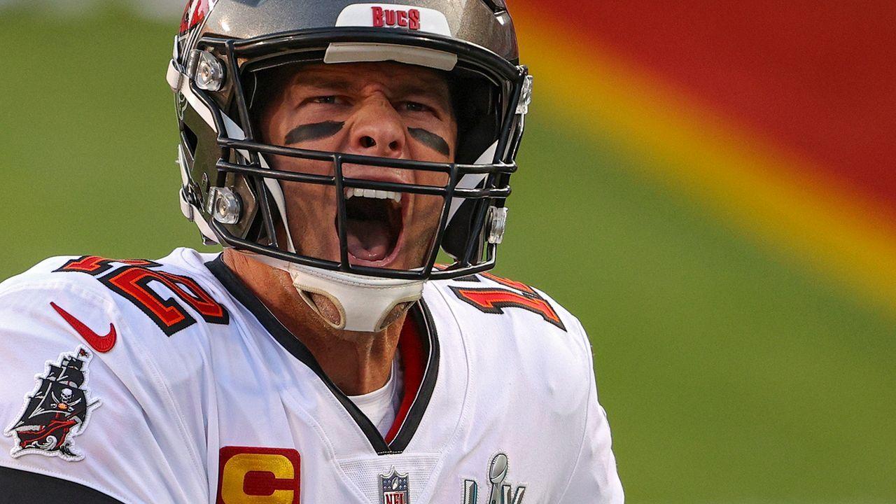 Platz 3: Tom Brady (Tampa Bay Buccaneers) - Bildquelle: Getty Images