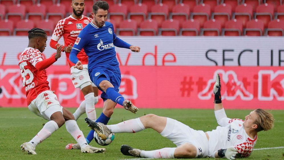 In der Hinrunde trennten sich Mainz und Schalke mit einem 2:2-Unentschieden. - Bildquelle: 2020 Pool