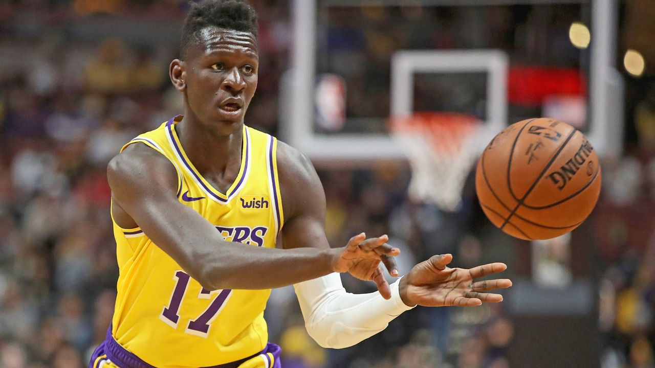 Isaac Bonga (Los Angeles Lakers) - Bildquelle: 2018 Getty Images