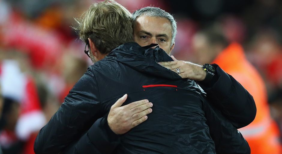 Jürgen Klopp Jose Mourinho - Bildquelle: 2016 Getty Images