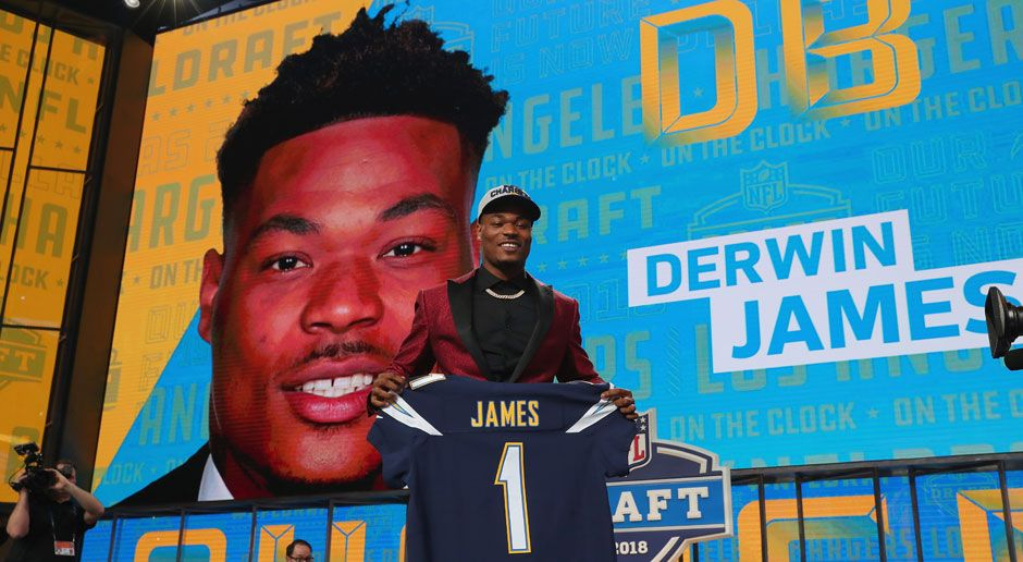 17. Derwin James (Defensive Back, Los Angeles Chargers)  - Bildquelle: 2018 Getty Images