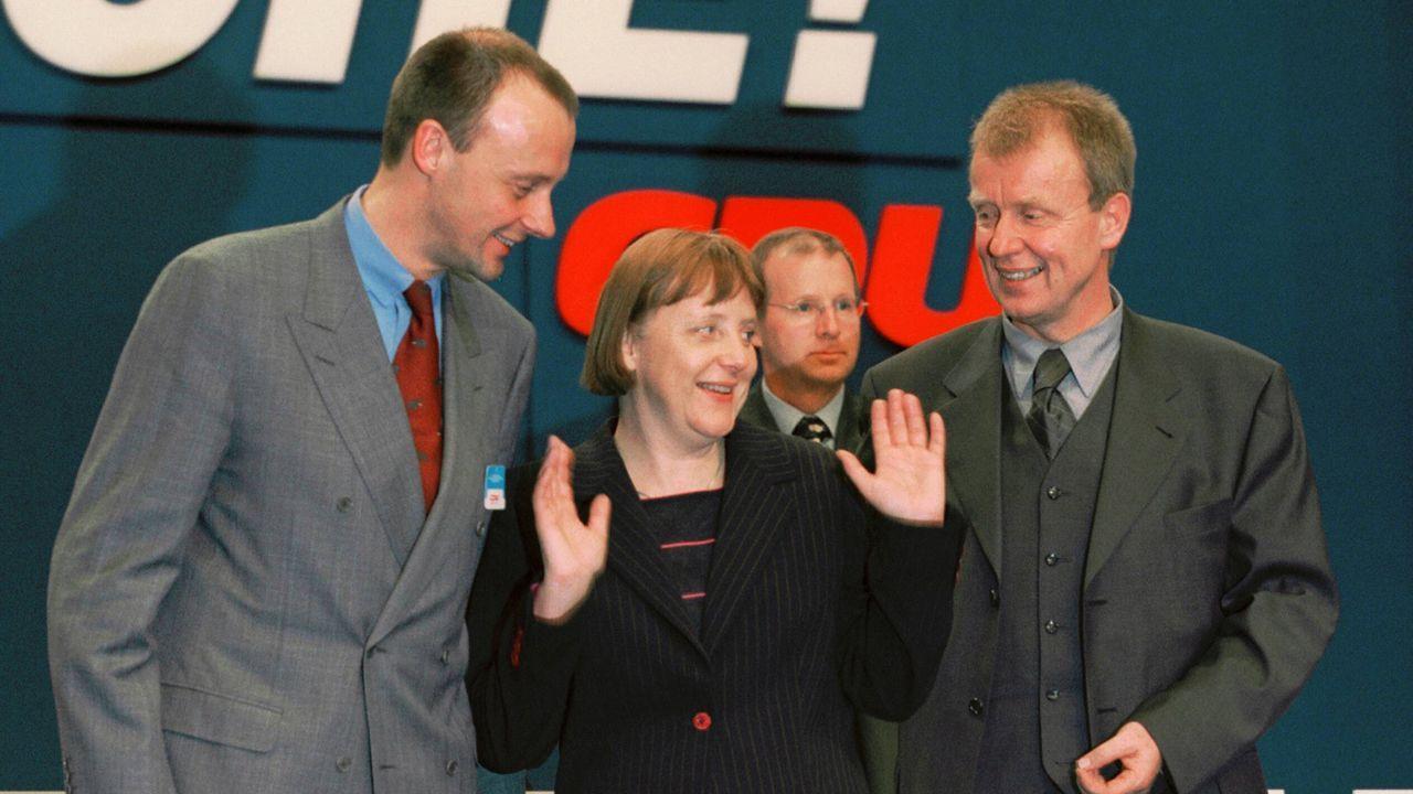 Angela Merkel wird neue CDU-Vorsitzende - Bildquelle: imago images/photothek