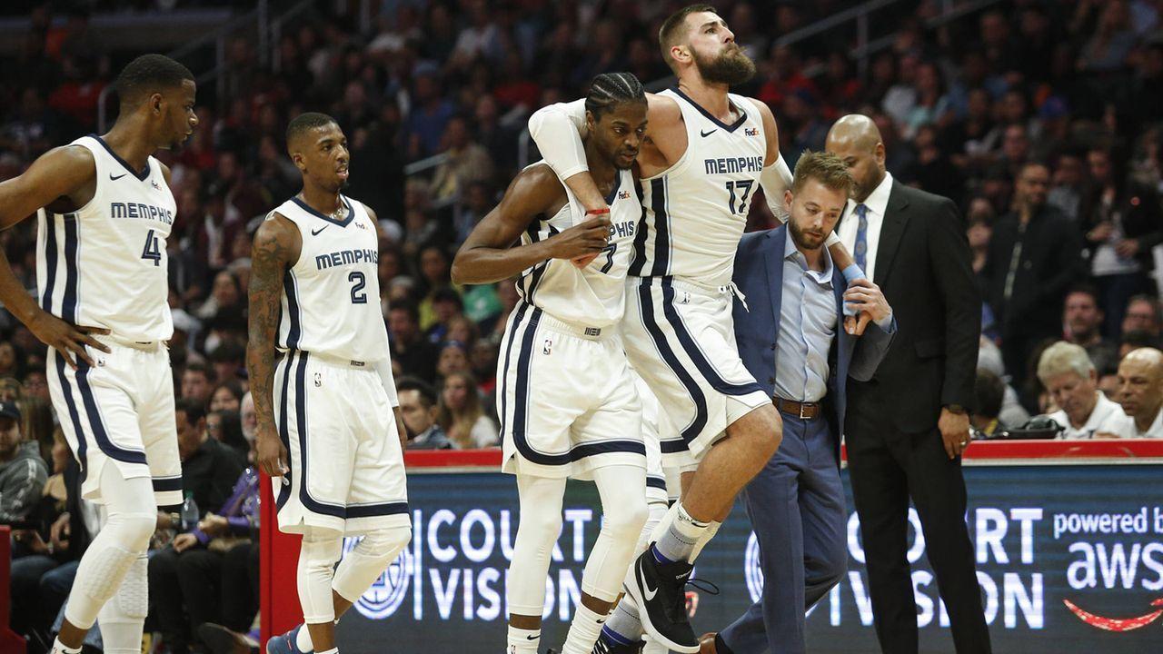 Platz 30: Memphis Grizzlies - Bildquelle: imago