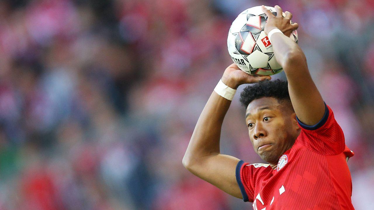 David Alaba (FC Bayern) - Bildquelle: imago