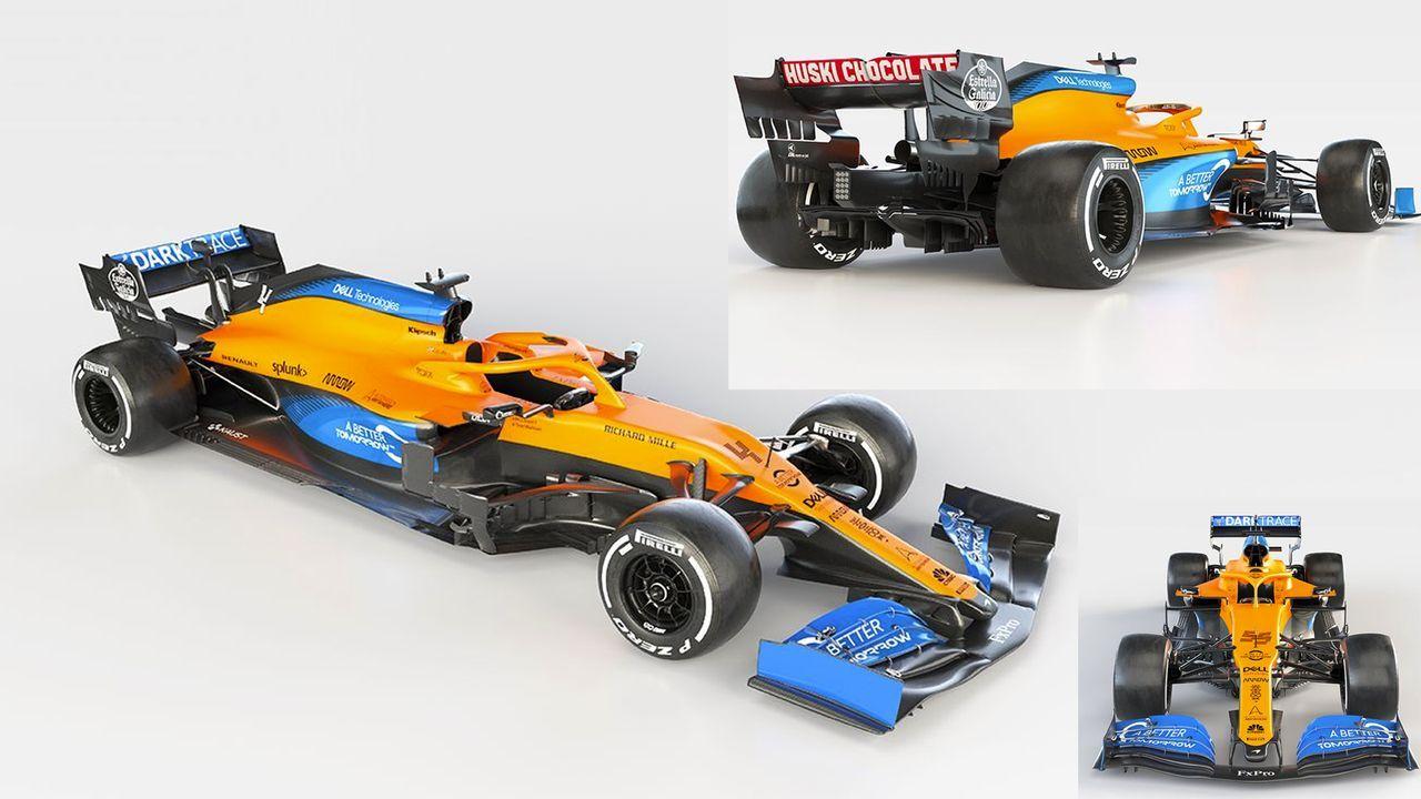 McLaren F1 - MCL35 - Bildquelle: Twitter: McLaren