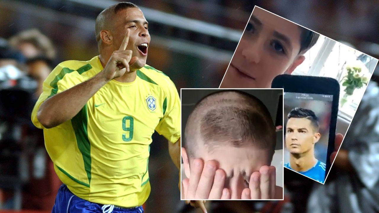 "Mega-Prank! Vater verpasst Sohn Frisur vom ""falschen"" Ronaldo - Bildquelle: Imago/instagram@morriskid"