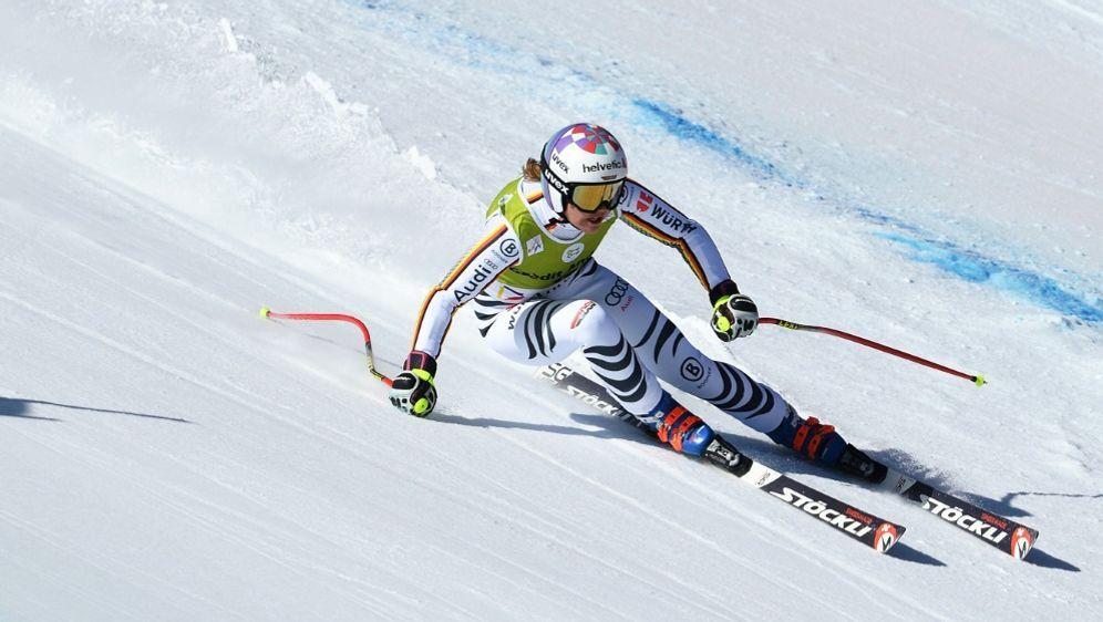 Viktoria Rebensburg gewann souverän in Lake Louise - Bildquelle: PIXATHLONPIXATHLONSID