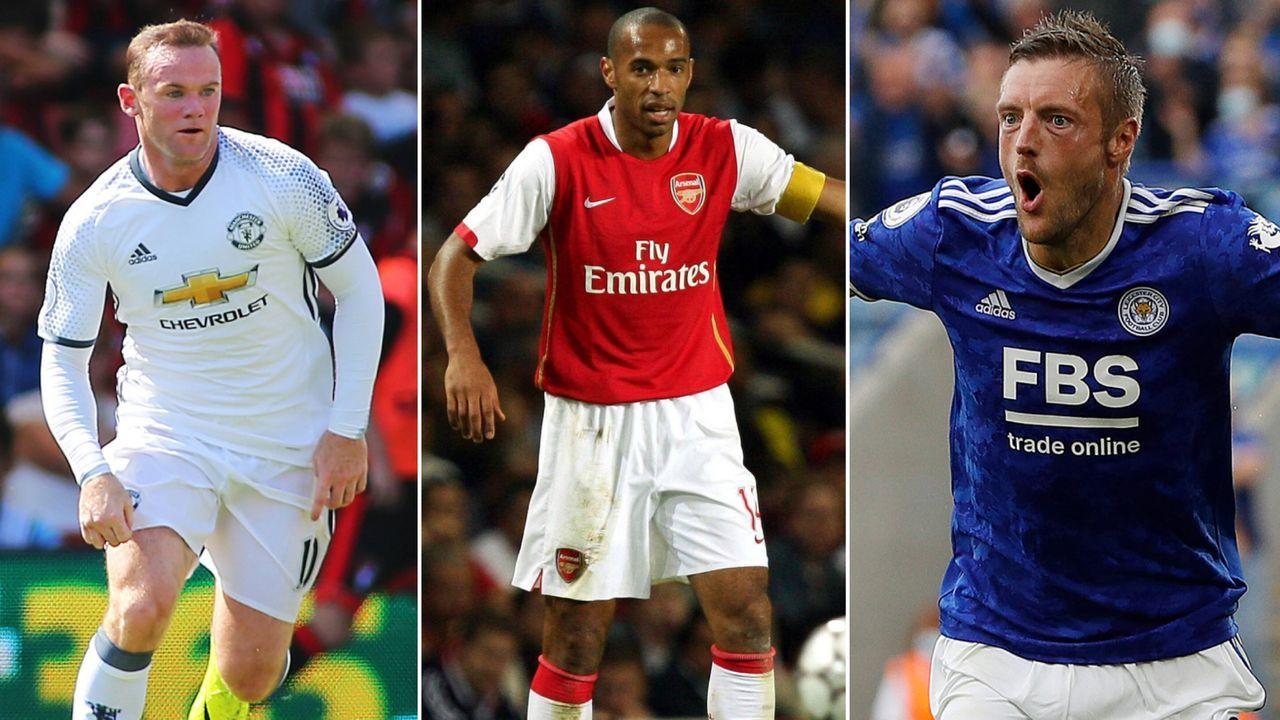 Rooney, Henry und Co.: Die Rekordtorschützen der Premier League Klubs - Bildquelle: Imago