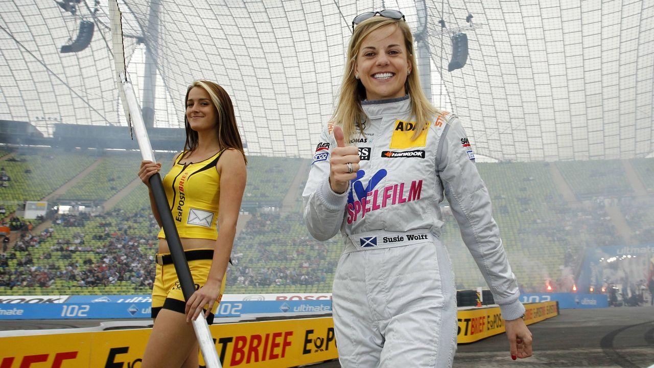 Susie Wolff (DTM-Saisons 2006-2012, 72 Rennen) - Bildquelle: imago sportfotodienst