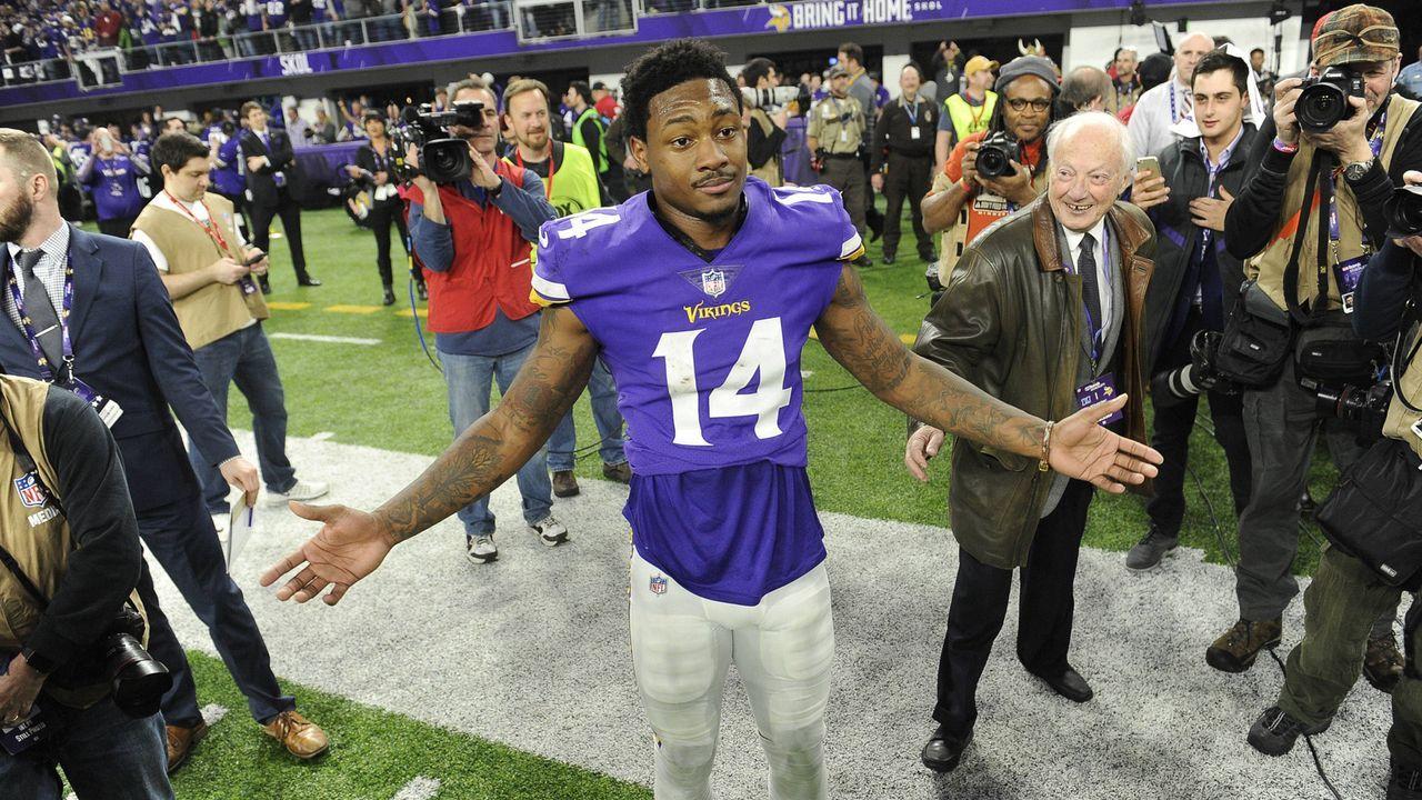 Platz 8: Stefon Diggs (Minnesota Vikings) - Bildquelle: imago