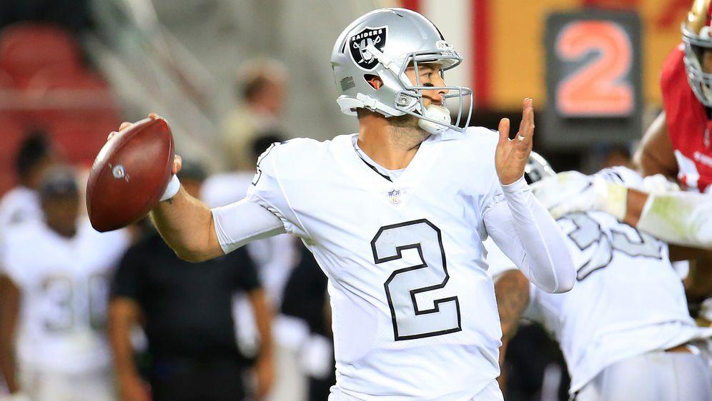 AJ McCarron wird Backup von Starting-Quarterback Deshaun Watson bei den Hous... - Bildquelle: Getty Images