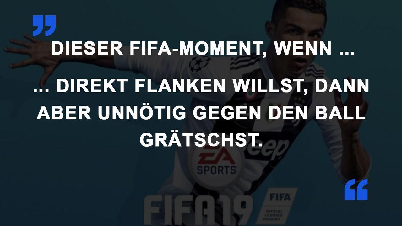 FIFA Momente Flanke Grätsche