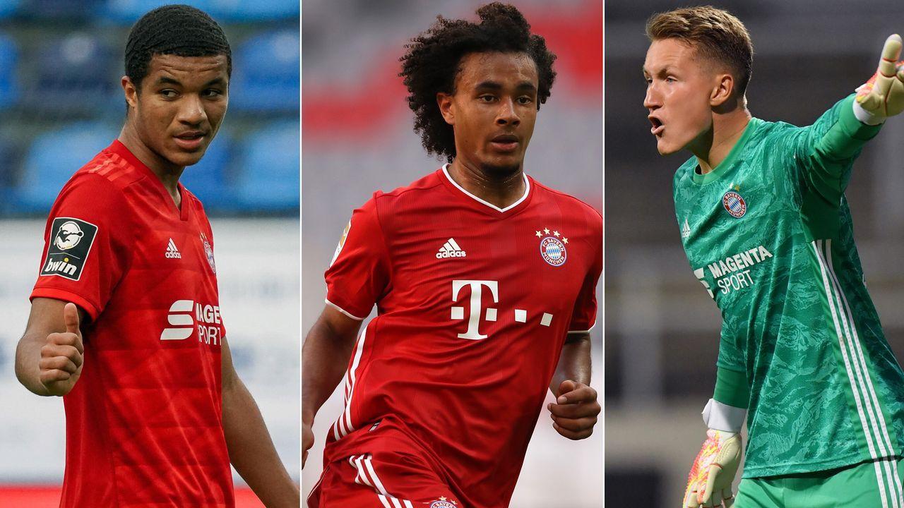 Diese Bayern-Talente nimmt Flick mit nach Lissabon - Bildquelle: Getty Images/Imago