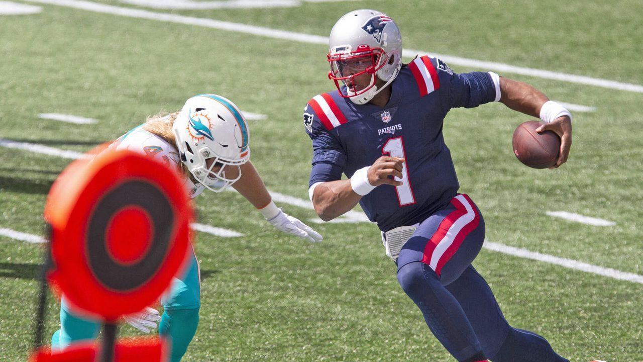 Platz 6: Cam Newton (New England Patriots) - Bildquelle: Imago