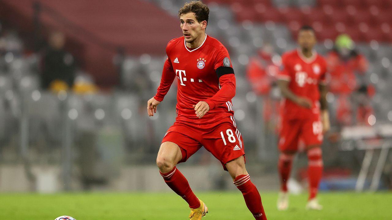 Leon Goretzka (FC Bayern München) - Bildquelle: 2020 Getty Images